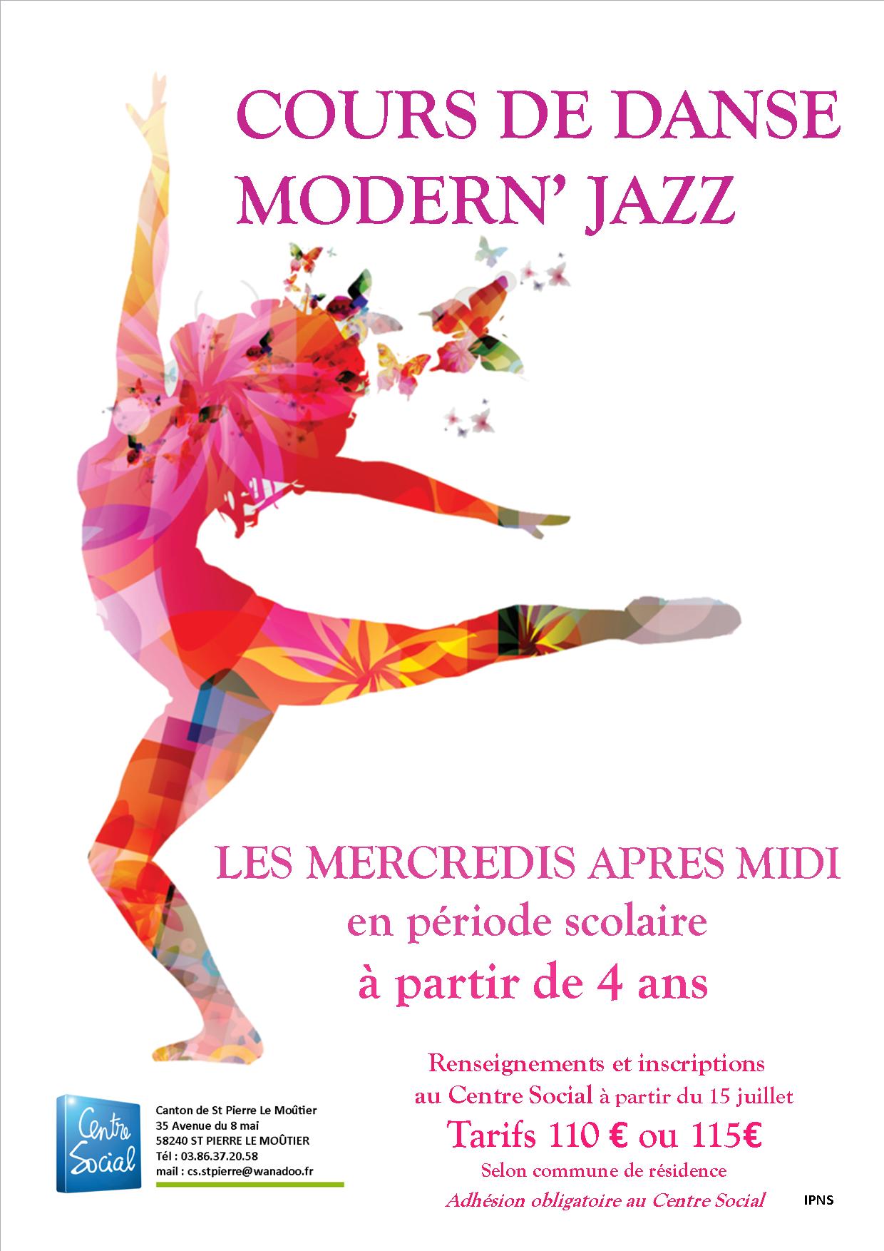 danse modern jazz 2021-2022