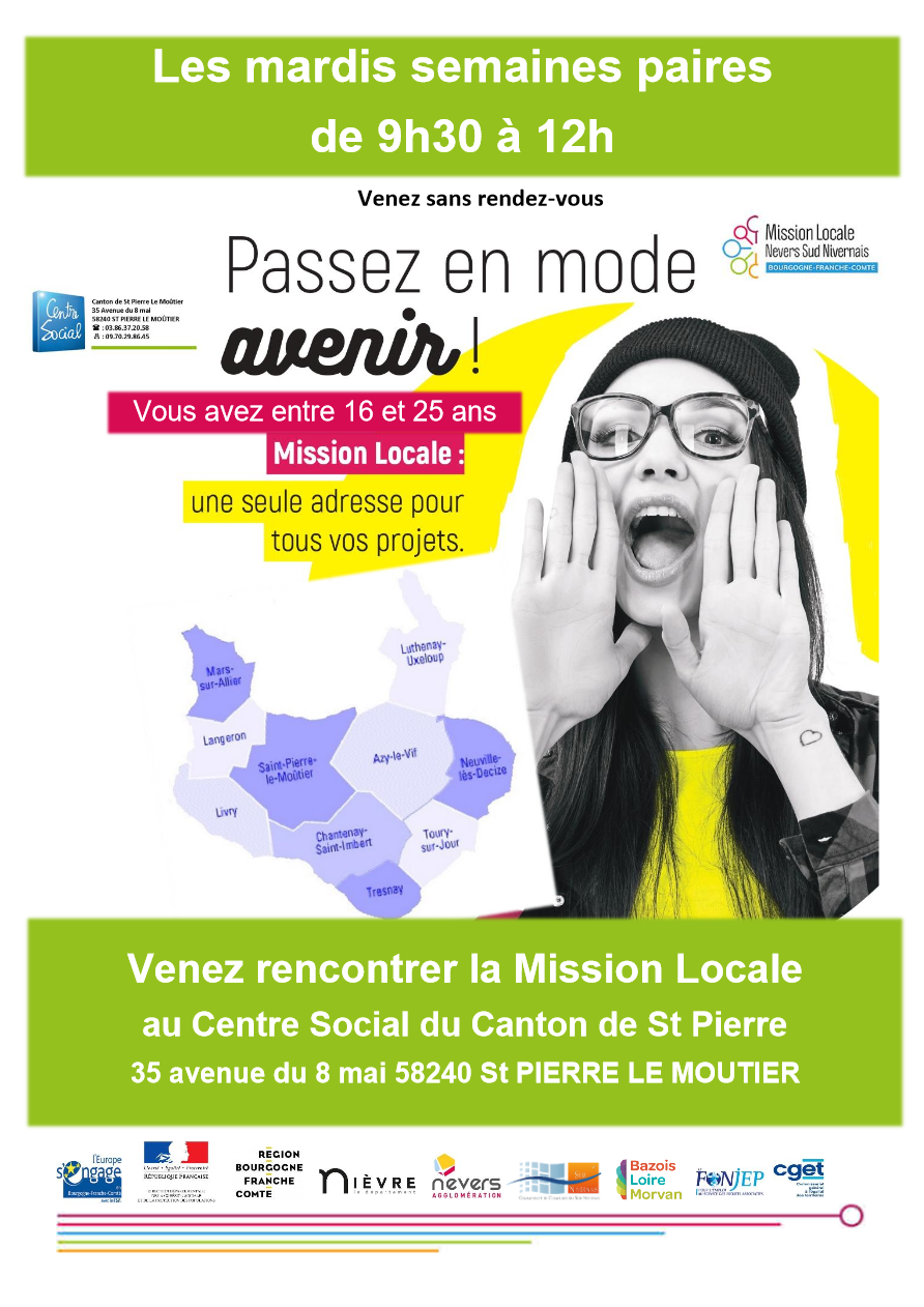 Mission Locale - Affiche 2021